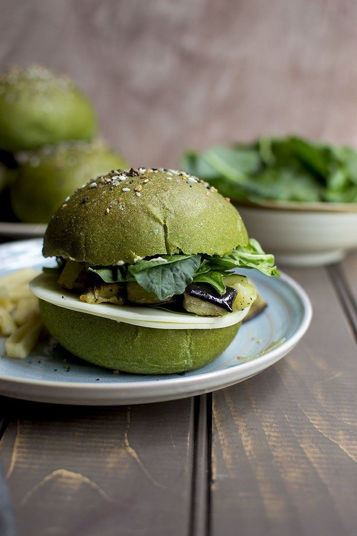 Spinach Sandwich Rolls Recipe | HeyFood — heyfoodapp.com