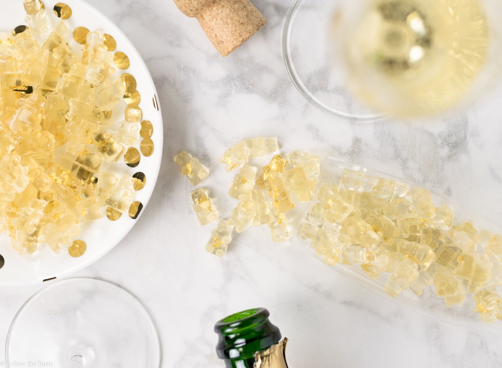 Champagne Gummy Bears Recipe | HeyFood — heyfoodapp.com