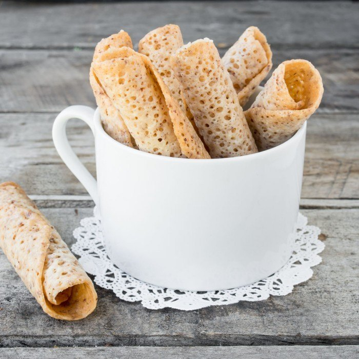 Reader's Recipes: Almond Lace Wafers Recipe | HeyFood — heyfoodapp.com