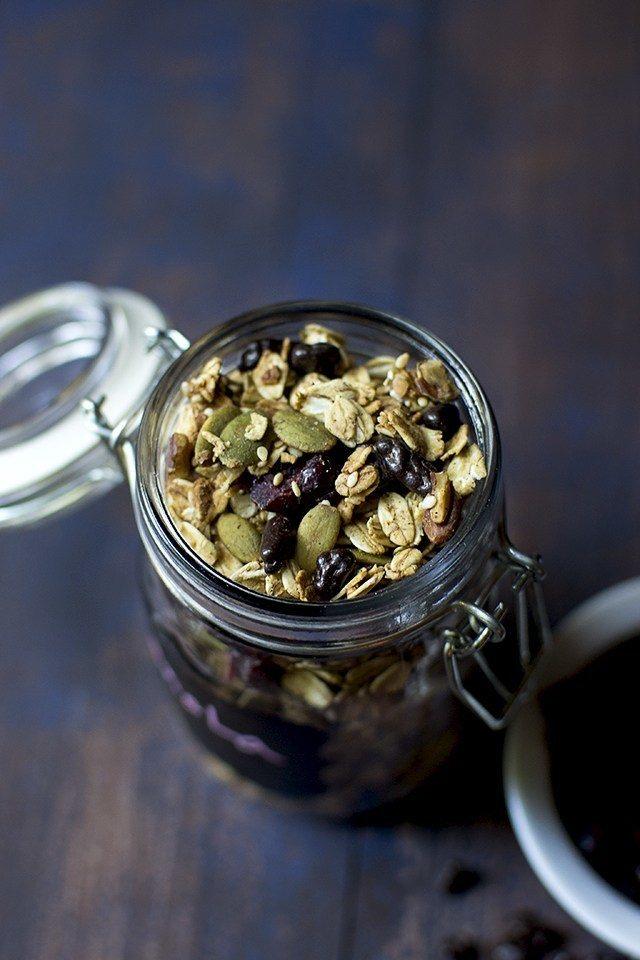 Cranberry Cacao Nib Granola Recipe | HeyFood — heyfoodapp.com