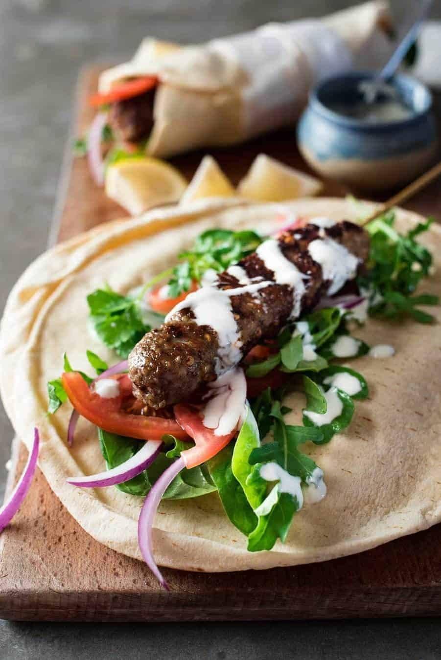 Turkish Lamb Kofta Kebabs Recipe | HeyFood — heyfoodapp.com