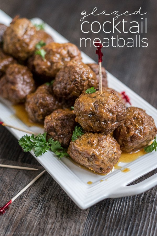 GlazedCocktail Meatballs Recipe | HeyFood — heyfoodapp.com