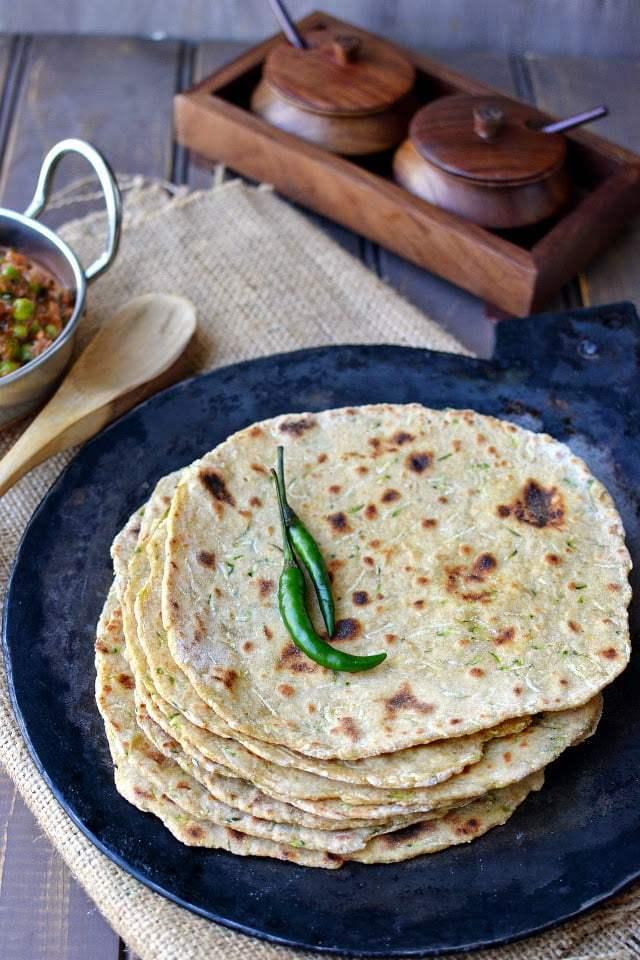 Zucchini Paratha Recipe | HeyFood — heyfoodapp.com