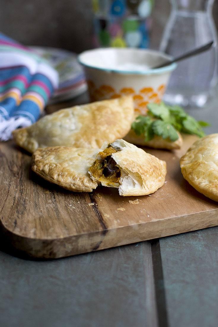 Sweet Potato & Black Bean Empanada Recipe | HeyFood — heyfoodapp.com