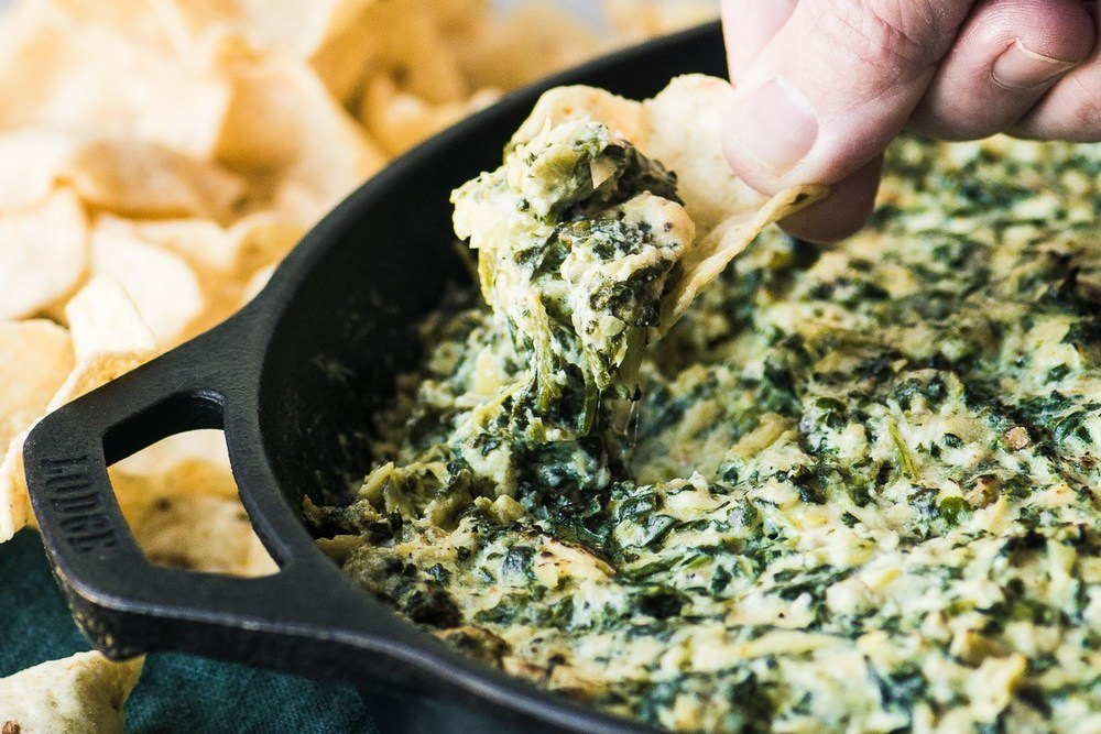 Smokey Spinach Artichoke Dip Recipe | HeyFood — heyfoodapp.com