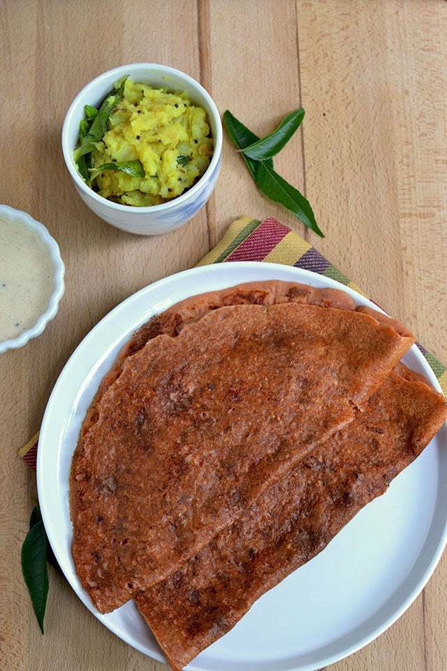 Tomato Dosa with Oats Recipe | HeyFood — heyfoodapp.com