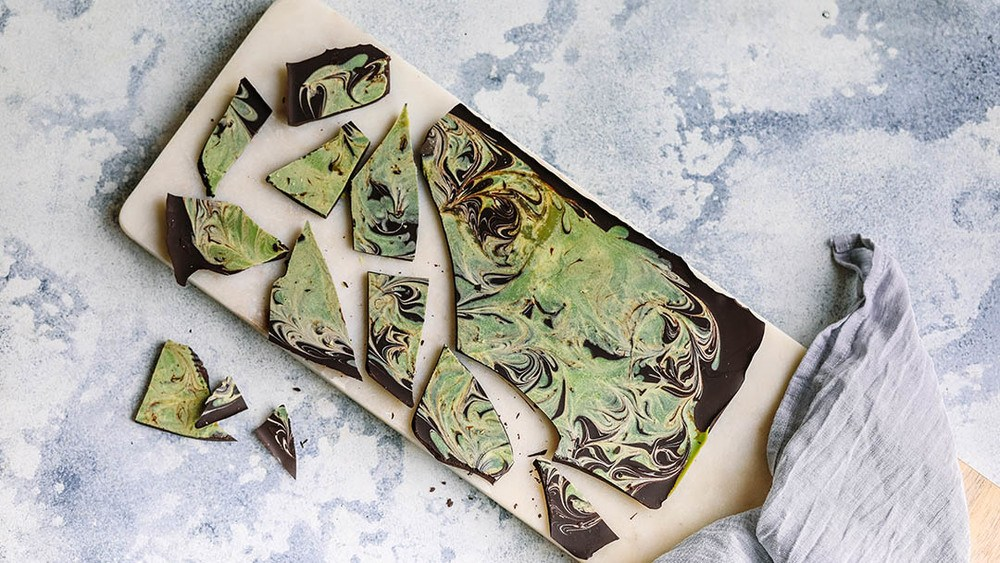 Matcha Swirl Chocolate Recipe | HeyFood — heyfoodapp.com