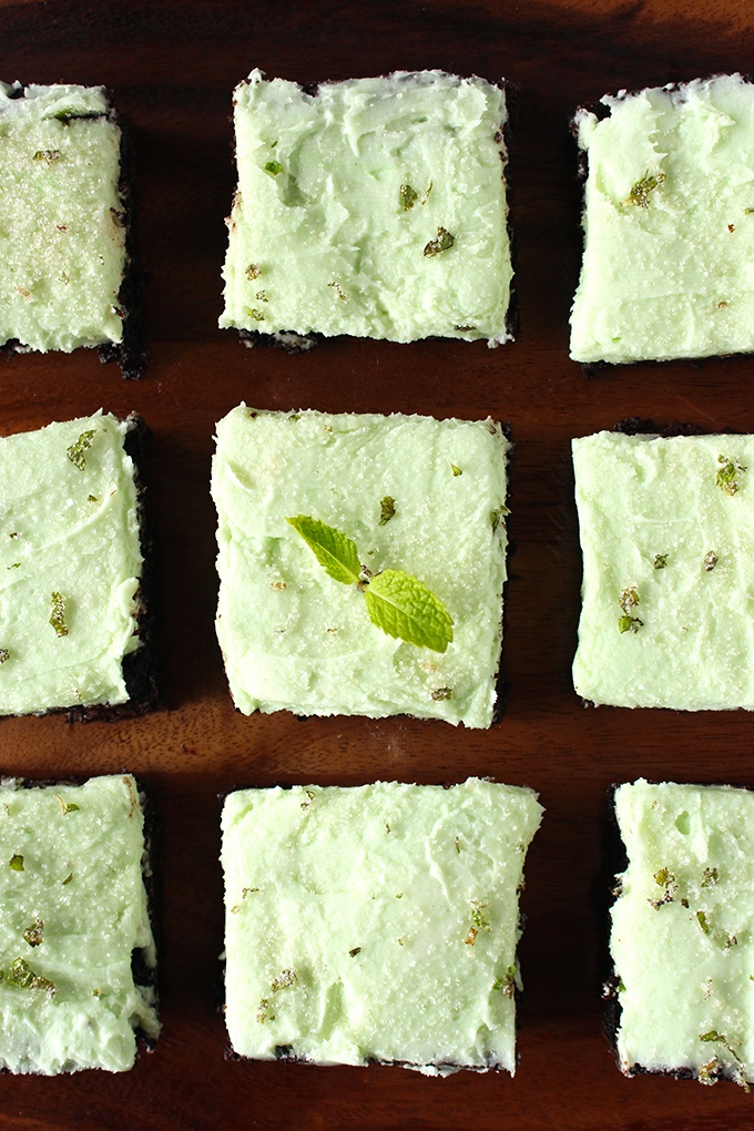Vegan Midnight Mint Mocha Brownies Recipe | HeyFood — heyfoodapp.com