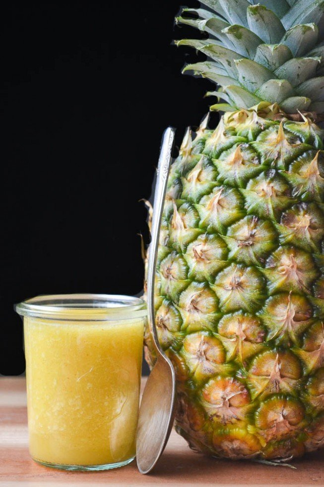 All Natural DIY Pineapple Cough Syrup Recipe | HeyFood — heyfoodapp.com