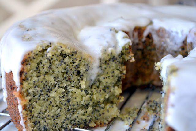 Amaretto Poppy Seed Cake Recipe | HeyFood — heyfoodapp.com