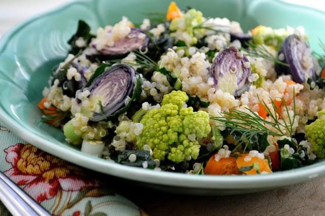 Minimal Monday: Colorful Cruciferous Quinoa (vegan, gluten free) Recipe | HeyFood — heyfoodapp.com