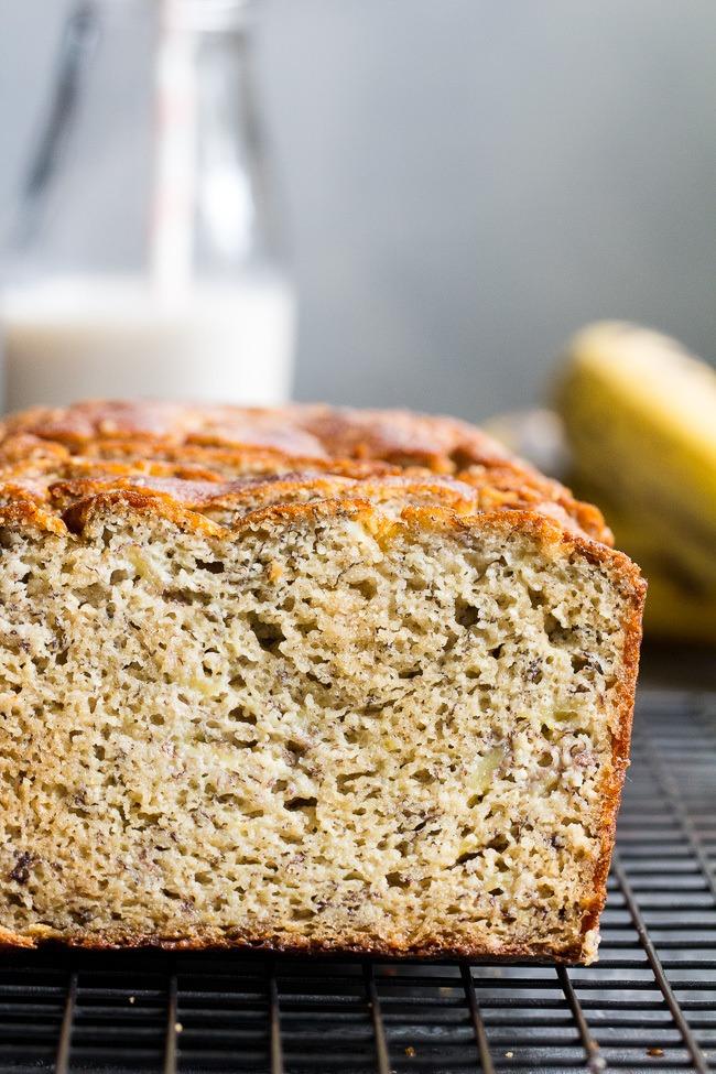 Hearty Paleo Banana Bread {Sweetened With Bananas Only!} Recipe | HeyFood — heyfoodapp.com
