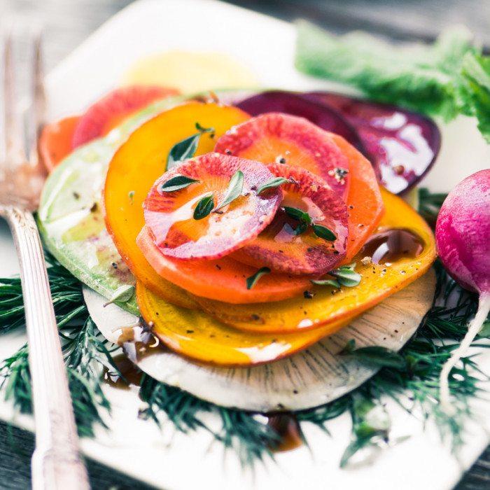 Shaved Winter Vegetable Salad Recipe | HeyFood — heyfoodapp.com