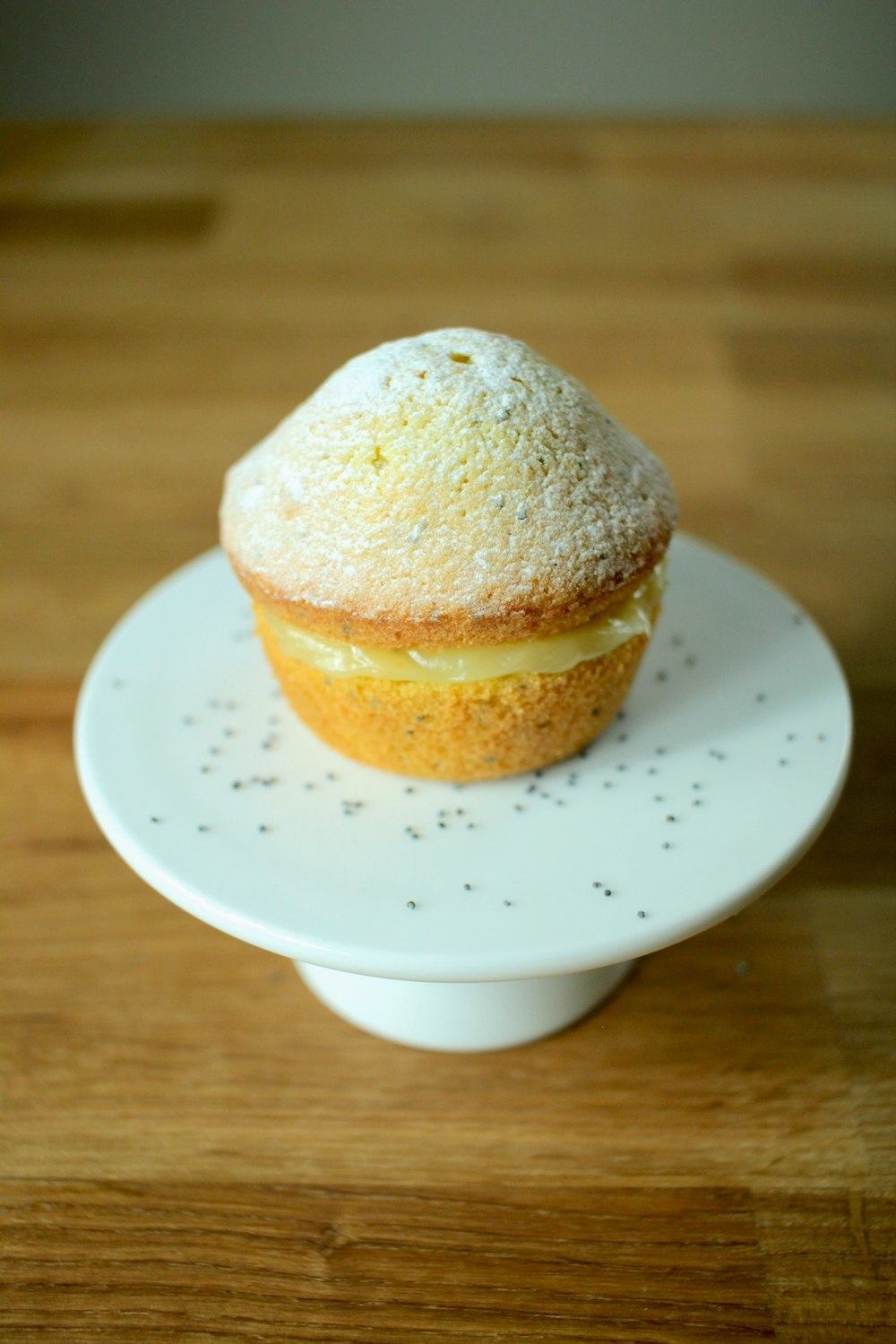 Mini Lemon and Poppy Seed Cakes Recipe | HeyFood — heyfoodapp.com