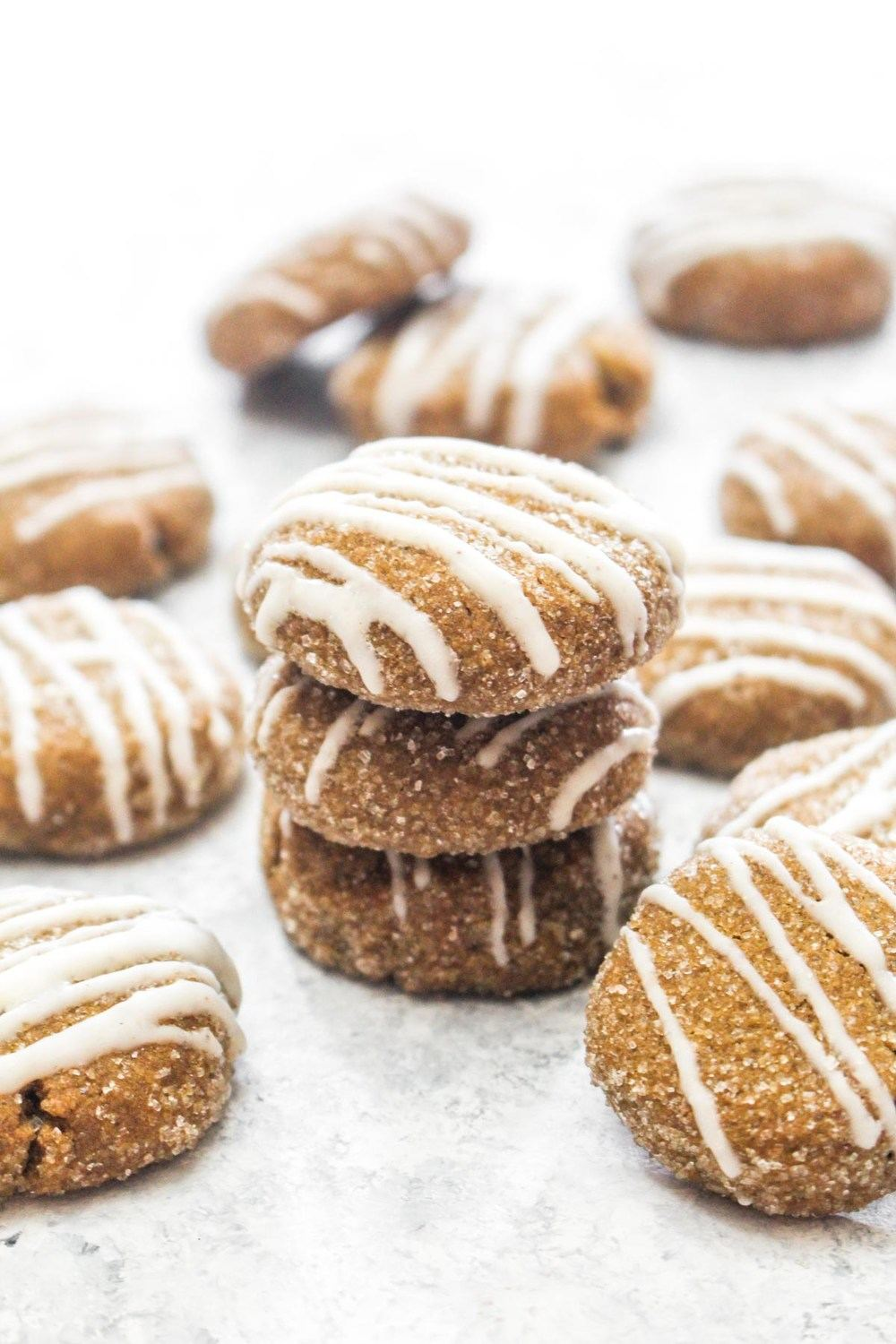 Soft Ginger Cookies with Eggnog Glaze Recipe | HeyFood — heyfoodapp.com