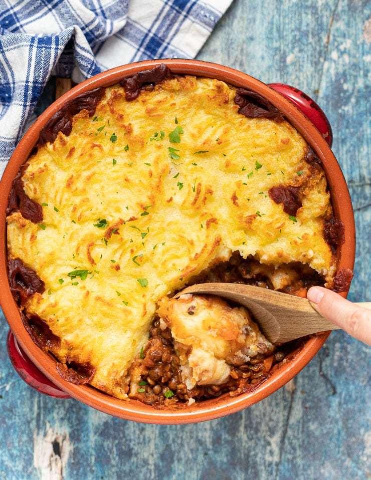 Lentil Shepherd's Pie Recipe | HeyFood — heyfoodapp.com