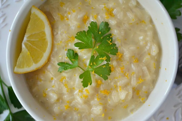 Minimal Monday: Meyer Lemon Risotto Recipe | HeyFood — heyfoodapp.com