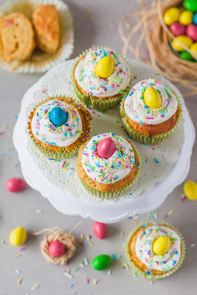 Carrot Cake Cupcakes {Dairy-Free} Recipe | HeyFood — heyfoodapp.com