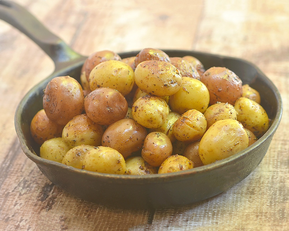 Instant Pot Herb Roasted Potatoes Recipe | HeyFood — heyfoodapp.com