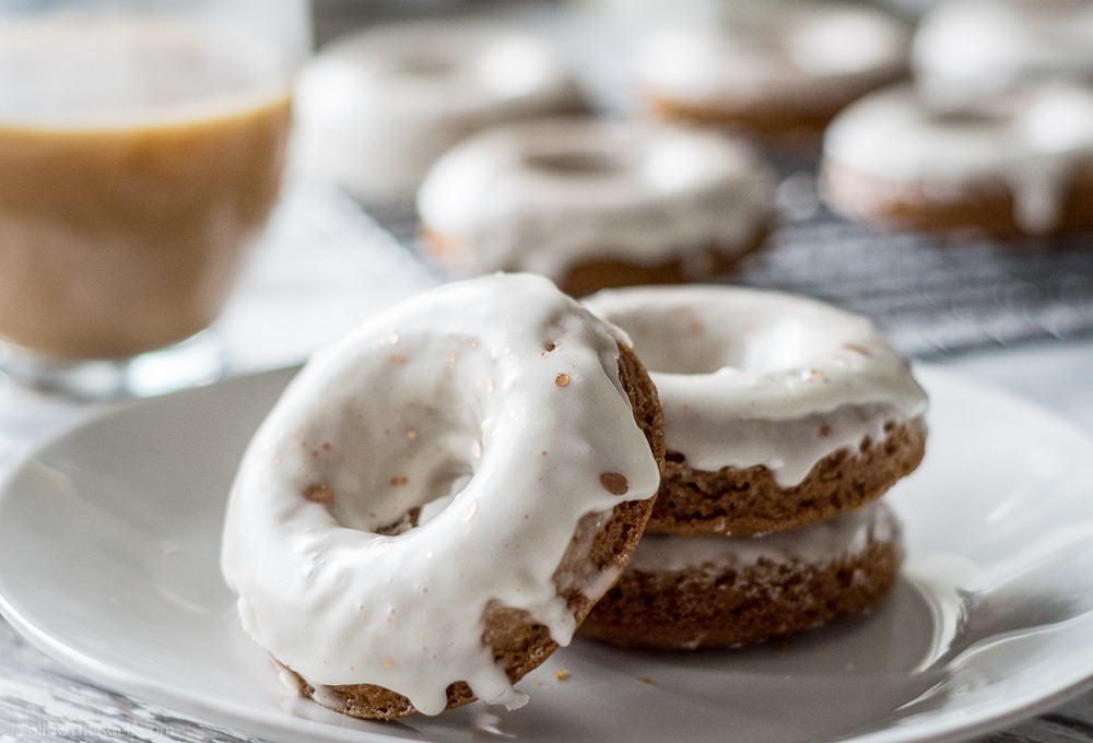 Glazed Gingerbread Donuts Recipe | HeyFood — heyfoodapp.com