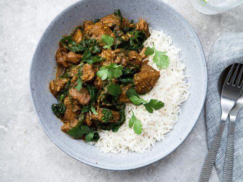 Green Lamb Curry Recipe   HeyFood — heyfoodapp.com