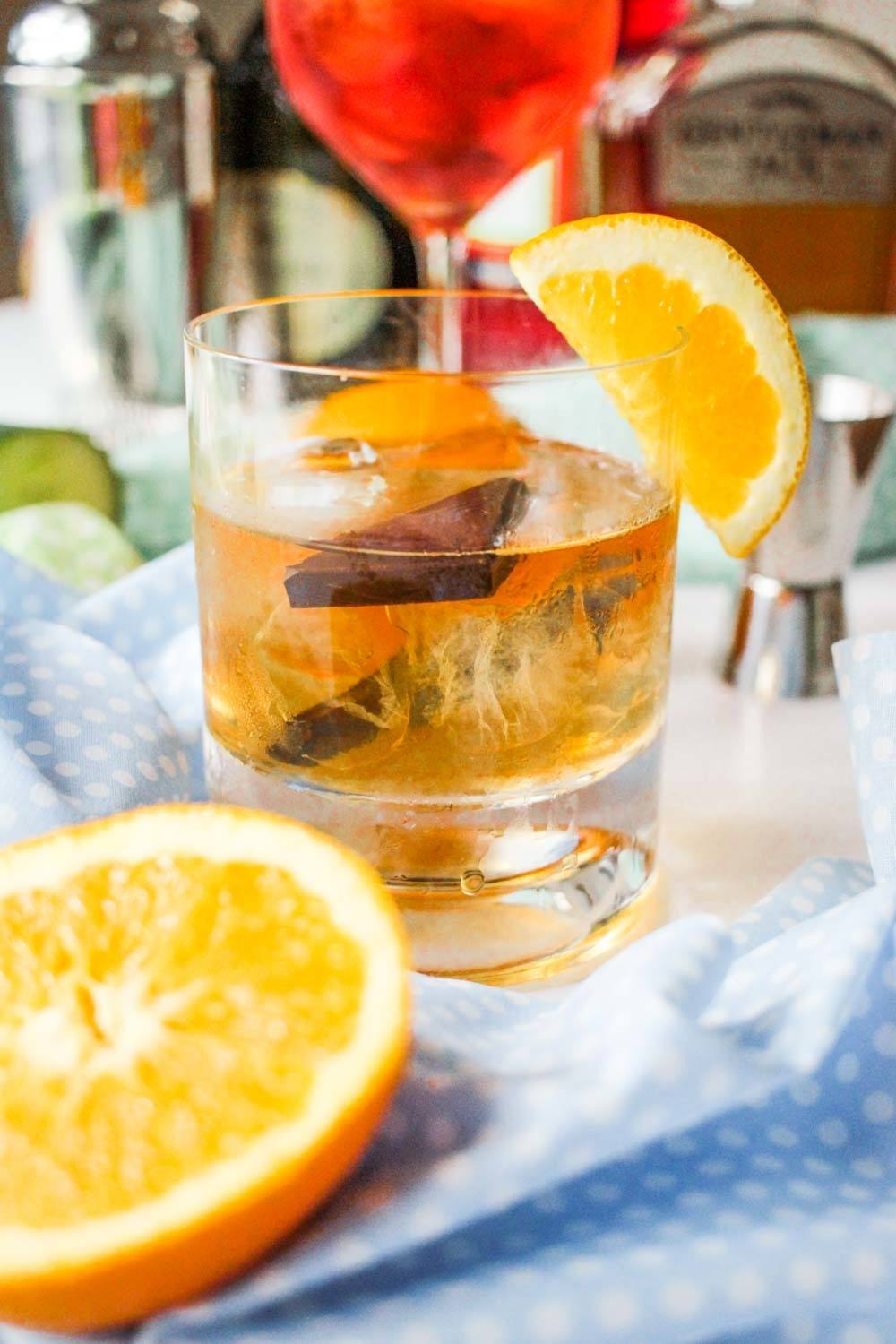 Chocolate Orange Old Fashioned Recipe | HeyFood — heyfoodapp.com