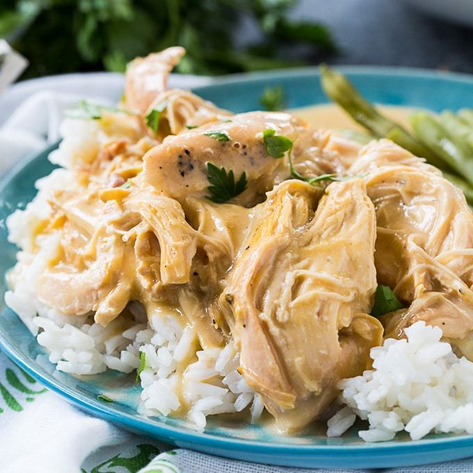 Crock Pot Chicken And Gravy Recipe | HeyFood — heyfoodapp.com