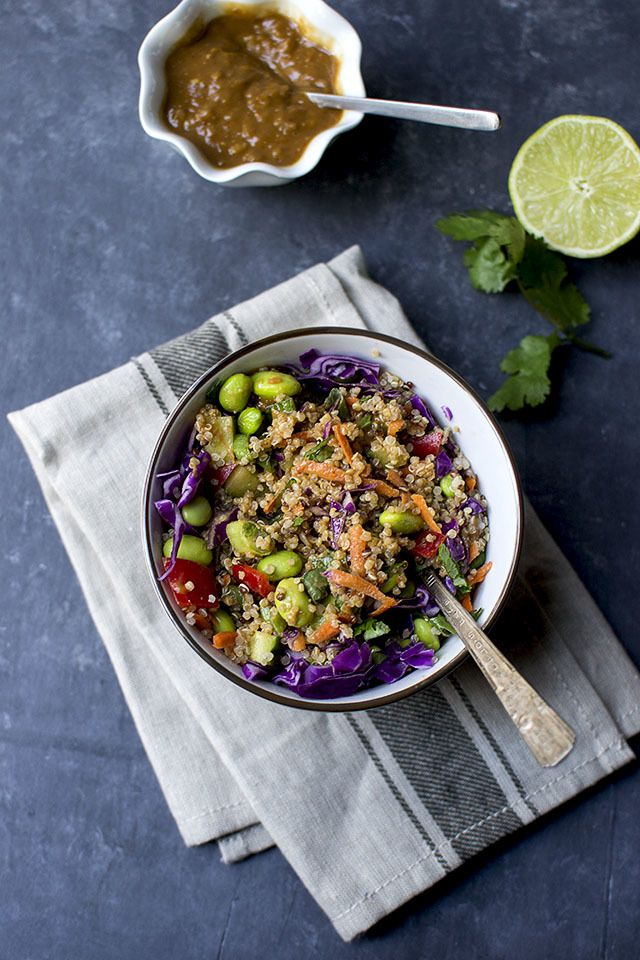 Thai Quinoa Salad Recipe | HeyFood — heyfoodapp.com