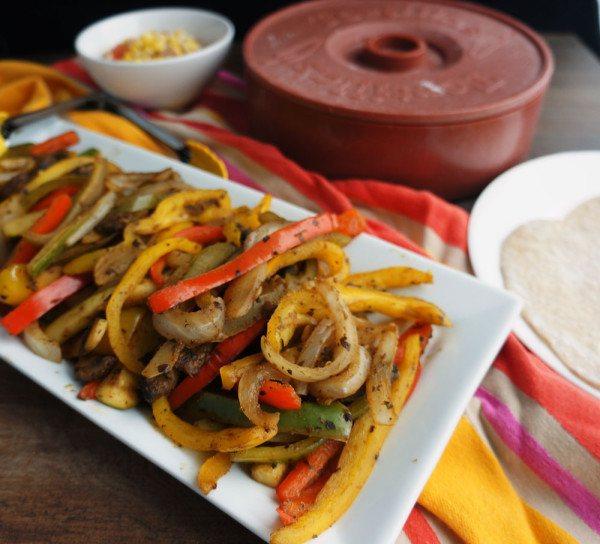 Veggie Fajitas Recipe   HeyFood — heyfoodapp.com