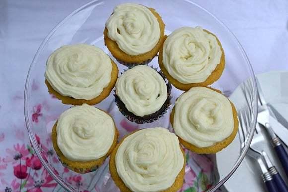 Vanilla Cupcakes made from Cake Mix Recipe | HeyFood — heyfoodapp.com
