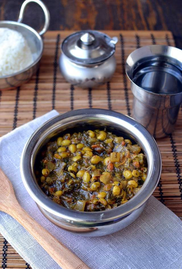 Menthikura Pulusu Kura Recipe | HeyFood — heyfoodapp.com