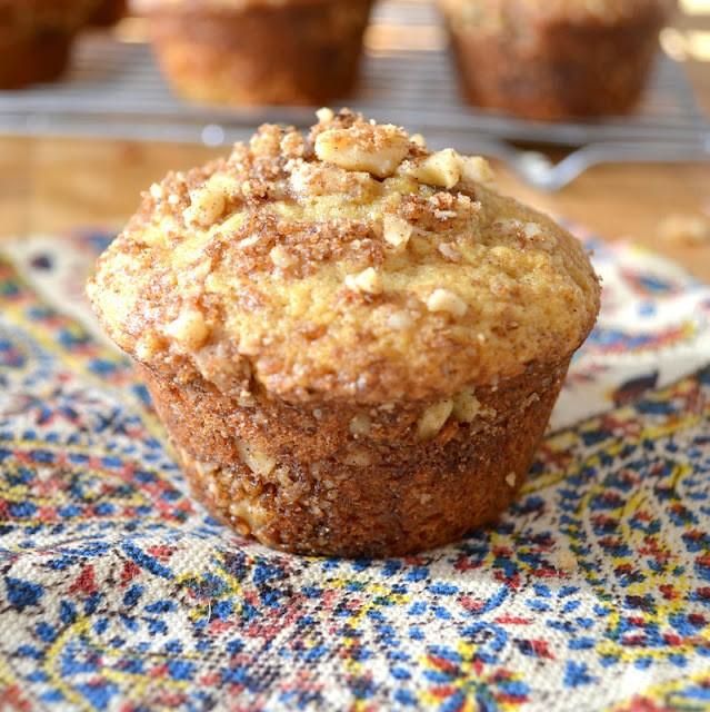 Cardamom Coffee Cake Muffins Recipe | HeyFood — heyfoodapp.com