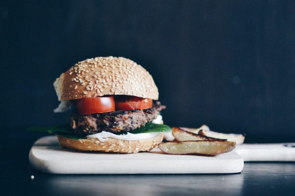 Vegetarian Black Bean Burgers Recipe | HeyFood — heyfoodapp.com