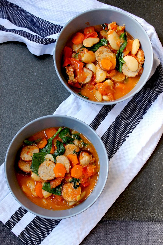 Italian-style sausage casserole Recipe | HeyFood — heyfoodapp.com