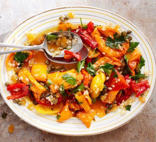 Sweet peperonata salad Recipe | HeyFood — heyfoodapp.com