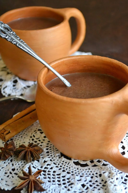 Chocolate Atole, Mexican Hot Chocolate Recipe | HeyFood — heyfoodapp.com