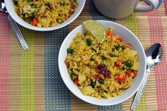 Vegetable Poha Recipe | HeyFood — heyfoodapp.com