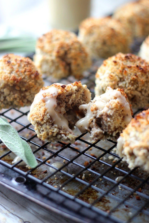 Thanksgiving Leftovers Gravy Balls Recipe   HeyFood — heyfoodapp.com