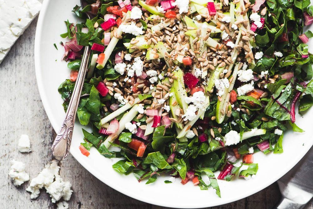 Rainbow Chard Salad Recipe | HeyFood — heyfoodapp.com