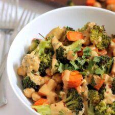 Chickpea Broccoli Buddha Bowl Recipe | HeyFood — heyfoodapp.com