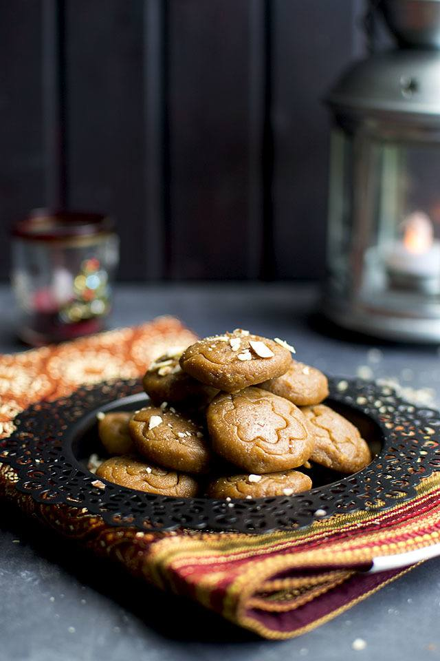 Dulche de Leche-Almond Peda Recipe | HeyFood — heyfoodapp.com