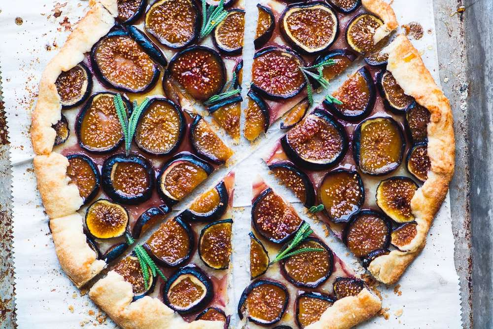 Fig Tart with Lavender Honey Recipe | HeyFood — heyfoodapp.com