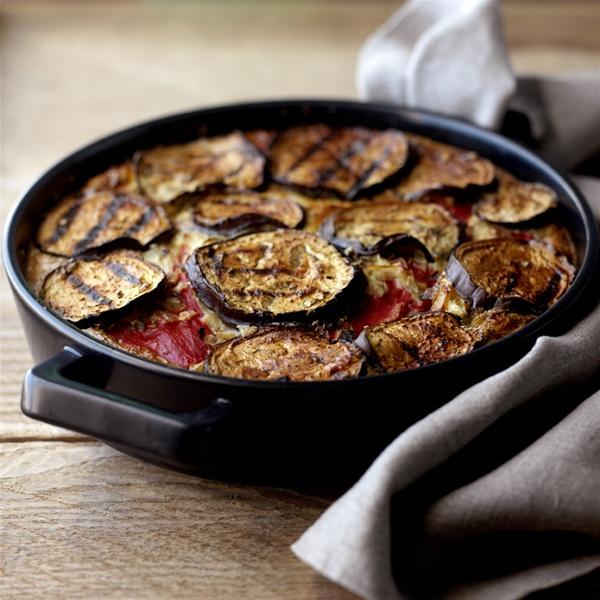 Baked Vegetable Frittata Recipe | HeyFood — heyfoodapp.com