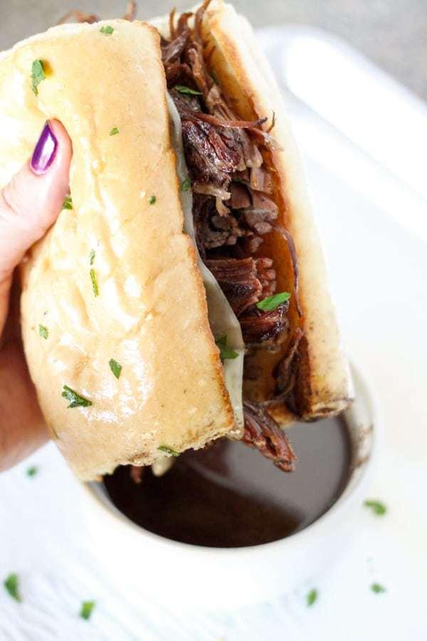 Instant Pot French Dip Sandwich Recipe | HeyFood — heyfoodapp.com