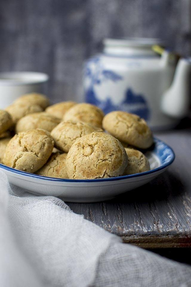 Chinese Peanut Cookies Recipe | HeyFood — heyfoodapp.com