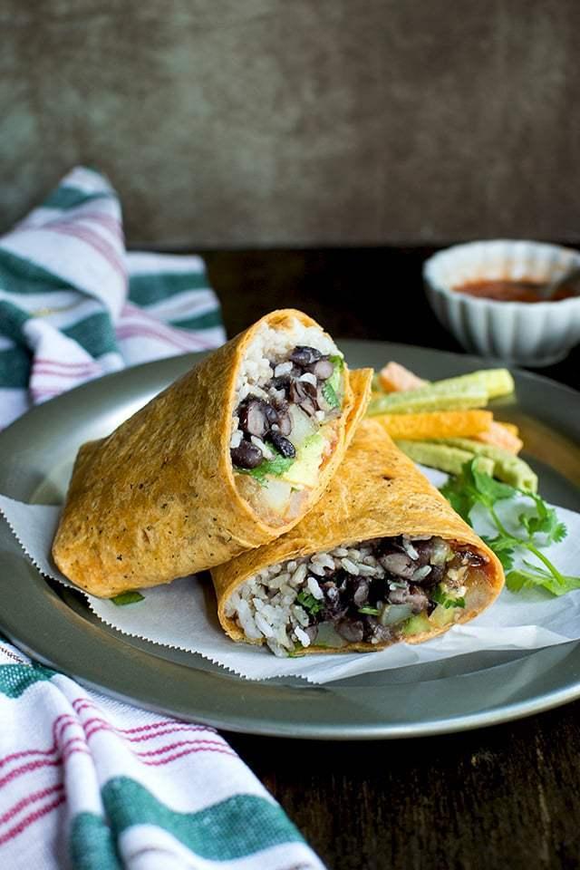 Bean Burrito Recipe | HeyFood — heyfoodapp.com