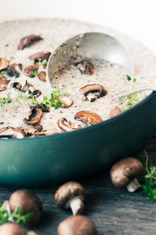 Mushroom and Brie Soup Recipe | HeyFood — heyfoodapp.com