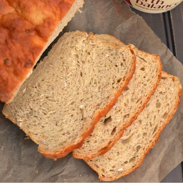 Sourdough Multi grain Sandwich Bread Recipe | HeyFood — heyfoodapp.com