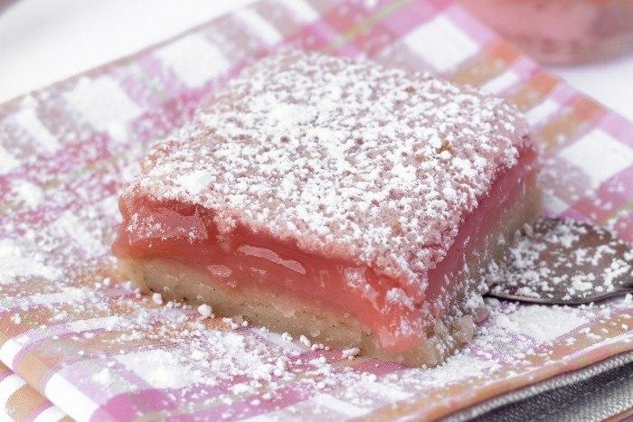 Hibiscus Lemon Bars Recipe | HeyFood — heyfoodapp.com