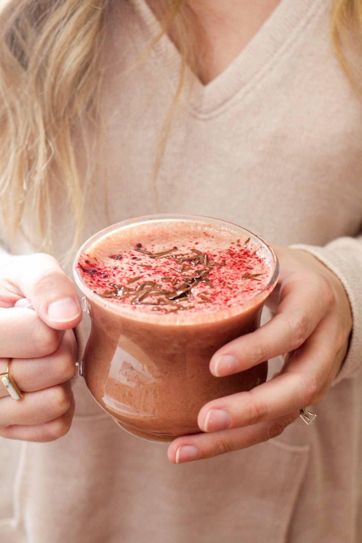 Red Velvet Hot Chocolate Recipe | HeyFood — heyfoodapp.com